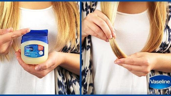 Hair Hacks! Petroleum Jelly Ternyata Bisa Menyelesaikan Masalah Rambutmu
