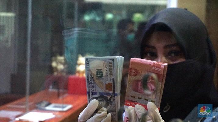 Pukul 10:00 WIB: Rupiah Masih Stagnan di Rp 14.750/US$