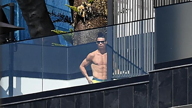 Rumah Mewah Cristiano Ronaldo Kemalingan