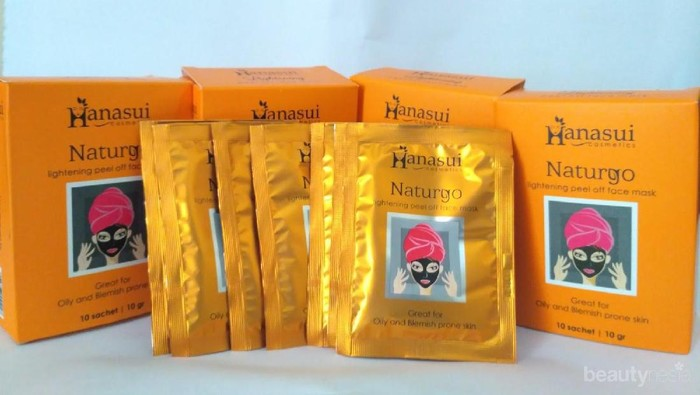 Dapatkan Kulit Cerah Bebas Komedo dengan Masker Naturgo Hanasui yang Terjangkau Ini!