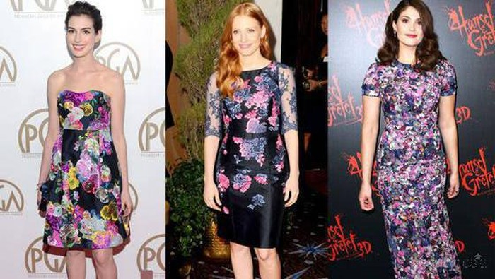 Tiru Gaya Fashionable Para Seleb Ini Saat Mengenakan Floral Dress, Yuk!