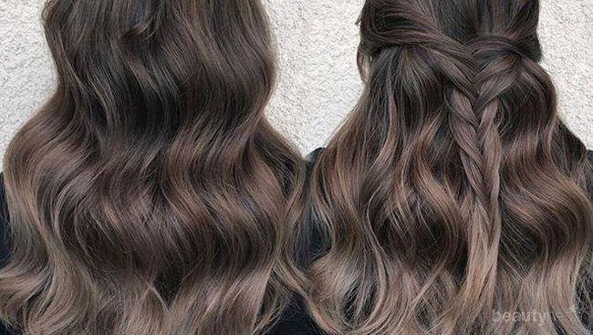 Warna  Rambut  Ash Kini Menjadi Pilihan yang Asik untuk