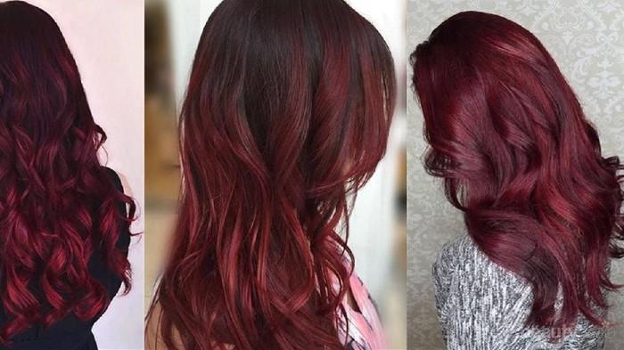 Yuk, Saatnya Tampil Memikat dengan Shades of Burgundy Hair Color