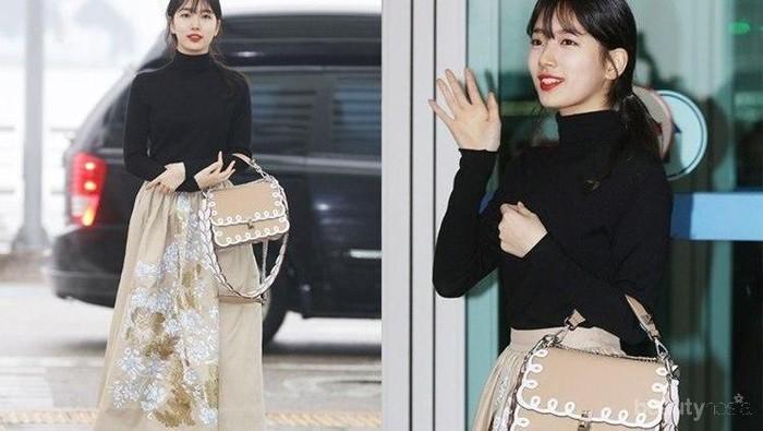 Wow! Intip Yuk Gaya Keren Selebriti Korea Ini dengan Tasnya yang Super Kece