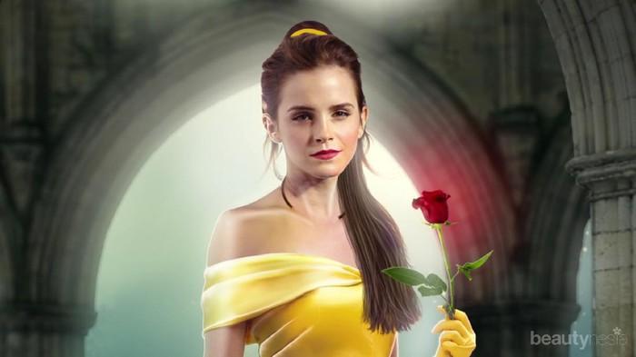 Yuk, Tampil Secantik Belle dengan Tips Make Up Ala Beauty And The Beast Ini