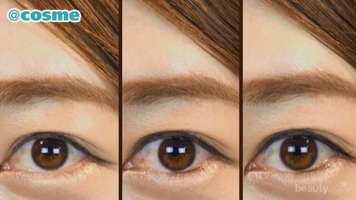 Pilih Cara Membuat Tightline  Mata Besar Dengan Tampilan Natural
