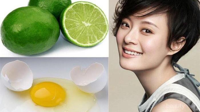 Menghilangkan Jerawat Dengan Jeruk Nipis Dan Putih Telur