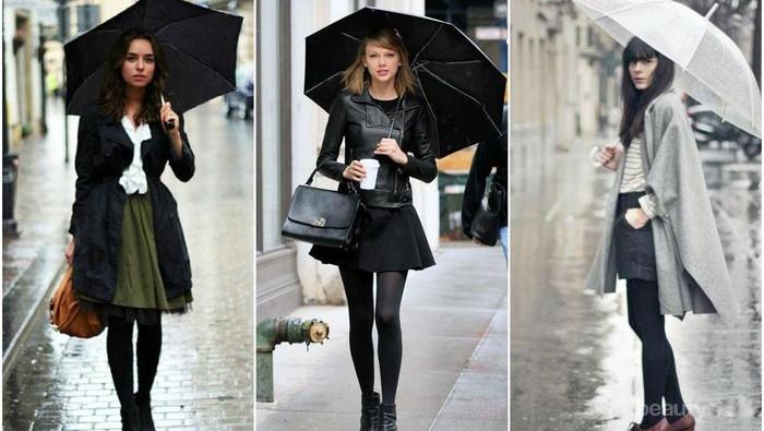 Fashion Alert! Begini Caranya Tetap Tampil Stylish di Musim Hujan!