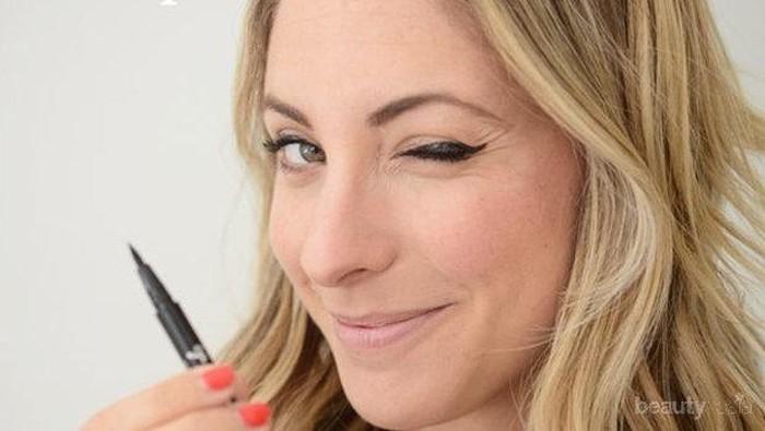 Eye Makeup Hacks! Gunakan Trik Berikut Ini Untuk Membuat Eyeliner Simple dan Cepat