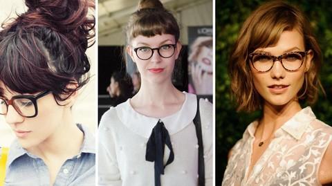 Biar Makin Keren Cewek Berkacamata Wajib Ikuti 4 Model Rambut Ini
