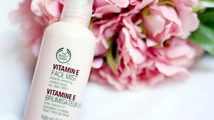 Bikin Wajahmu Fresh dengan The Body Shop Vitamin E Face Mist