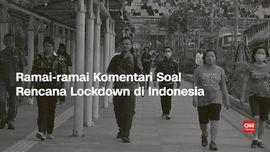 VIDEO: Pejabat Istana Ramai-ramai Komentari Rencana Lockdown