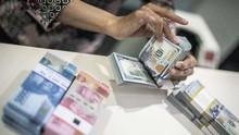 Rupiah Menguat Tipis ke Rp14.620 per Dolar AS