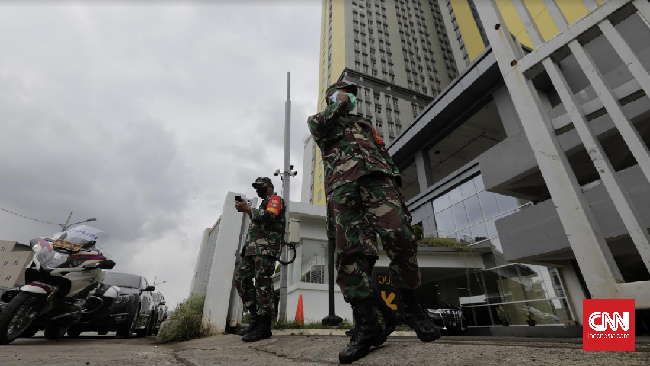 Berdasarkan hasil survei sarana dan prasarana, TNI memastikan Wisma Atlet sudah siap menampung pasien Corona.