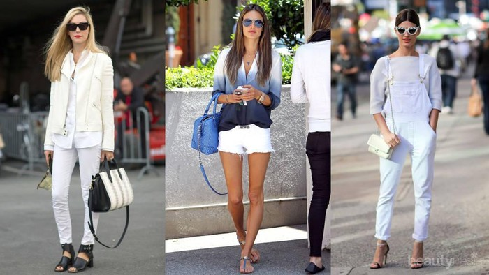 5 Cara Mudah Rawat Celana Jeans Wanita Warna Putih Agar Tetap Terlihat Bagus