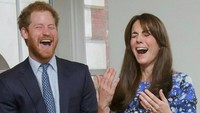 <p>Meski berstatus ipar, Kate sudah seperti kakak kandung bagi Pangeran Harry. Mereka kerap berbagi cerita dan tawa. (Foto: Instagram)</p>