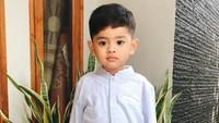 <p>Putra sulung Melody dan Tommy ini diberi nama Achmad Ibrahim Al-Khalifi. (Foto: Instagram @melodyprima)</p>