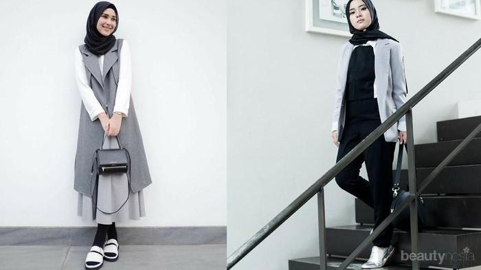 Style Monochrome Rani Hatta VS Restu Anggarini, Mana yang Lebih Keren?