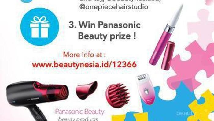 Coba Gaya Rambut Sesuai Karaktermu dan Menangkan Produk Panasonic Senilai Jutaan Rupiah!