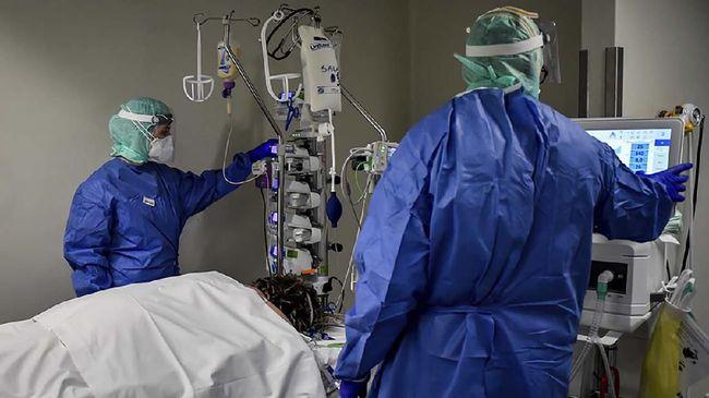 Jumlah kematian akibat virus corona (Covid-19) di Amerika Serikat telah mencapai 5.116 pasien per hari ini, Kamis (2/4).
