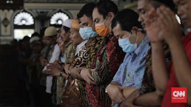 FOTO: Salat Jumat di Tengah Pandemi Covid-19