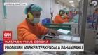 VIDEO: Produsen Masker Terkendala Bahan Baku
