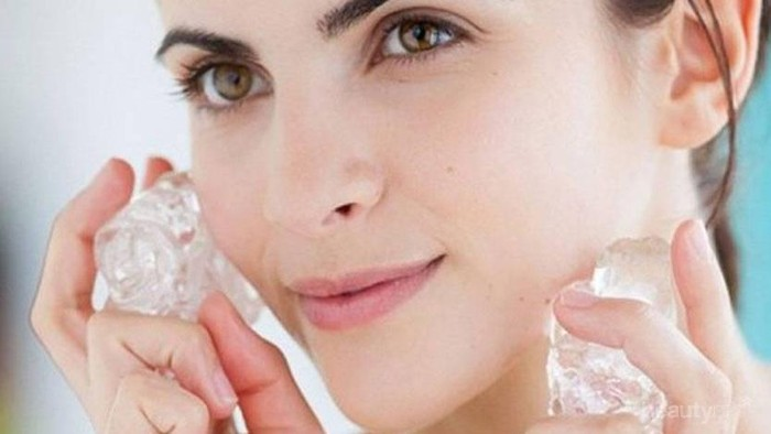 Beauty Hacks! Inilah 5 Cara Cantik Mudah dengan Menggunakan Es Batu