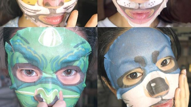 Yuk, Coba Animal Mask Lucu Asal Korea yang Mampu ...