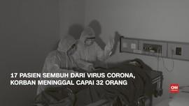 VIDEO: 17 Orang Sembuh dari Corona, 32 Pasien Meninggal Dunia