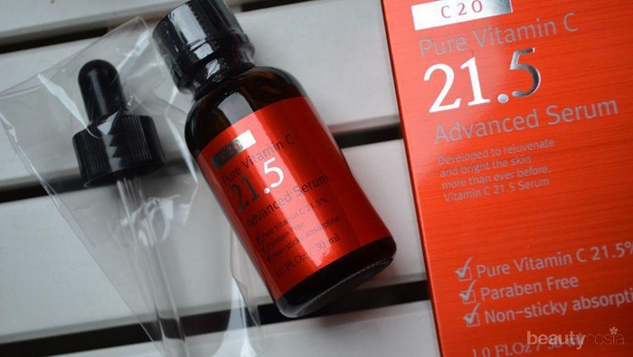 Mencari Skin Care Korea Terbaik Coba Ost C 21 5 Pure Vitamin C Advanced Serum Saja