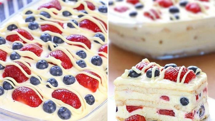 Tanpa Oven, Kamu Bisa Bikin Ice Cake Yummy yang Super Mudah Ini!