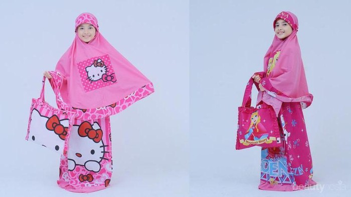 5 Rekomendasi Brand Mukena Lucu untuk Anak