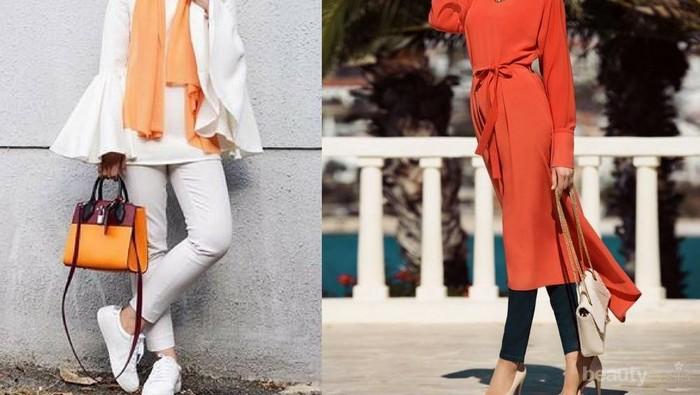 Ceriakan Gayamu dengan 5 Pilihan Padu Padan Sempurna Hijab Warna Oranye
