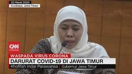 VIDEO: Darurat Covid-19 di Jawa Timur