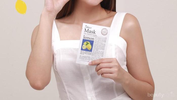Cukup 10 Menit, Kamu Bisa Melepas Lelah dan Kulit Wajah Sehat dengan Masker Ini!