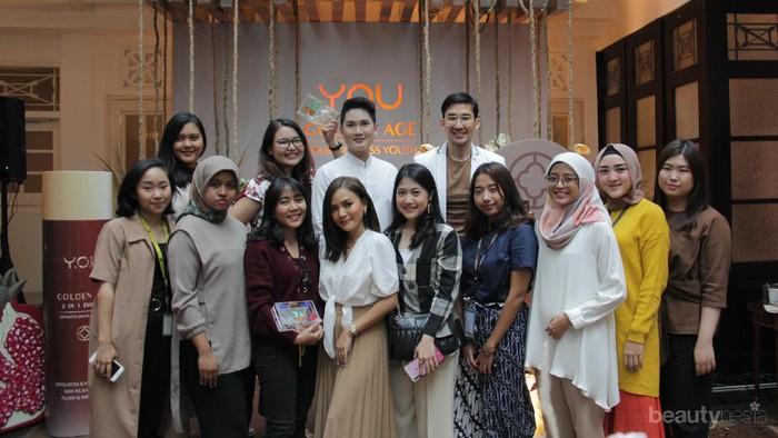 Your Timeless Youth, Cegah Penuaan Dini Bersama Y.O.U dan Beautynesia