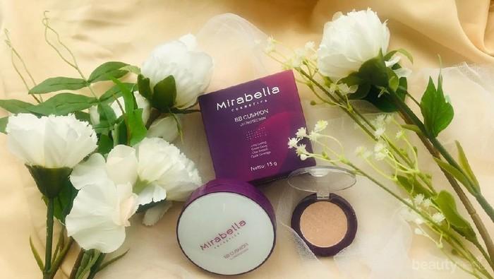 Less Effort Beauty Look dengan Mirabella BB Cushion dan Highlighter