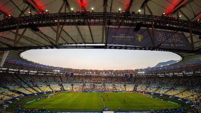 Klub-klub top Brasil seperti Flamengo, Sao Paulo, hingga Santos menyerahkan penggunaan stadion untuk memerangi pandemi corona.