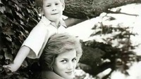 Semasa hidup, Putri Diana begitu dekat dengan kedua putranya. Princess of Wales juga dikenal tegas dalam mendidik William dan Harry. (Foto: Instagram)