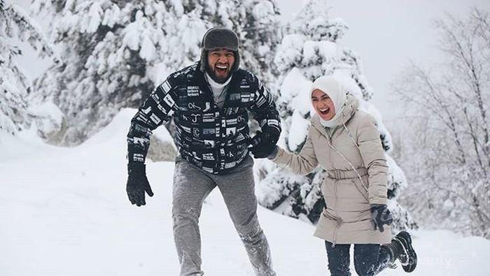 Ammar Zoni & Irish Bella Liburan ke Turki, Begini Potretnya