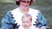 Putra sulung Putri Diana dan Pangeran Charles, Pangeran William, lahir di St Mary's Hospital, London, pada 21 Juni 1982. (Foto: Instagram)