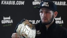 Jelang UFC 254, Khabib Pamer Pengetahuan Sepak Bola