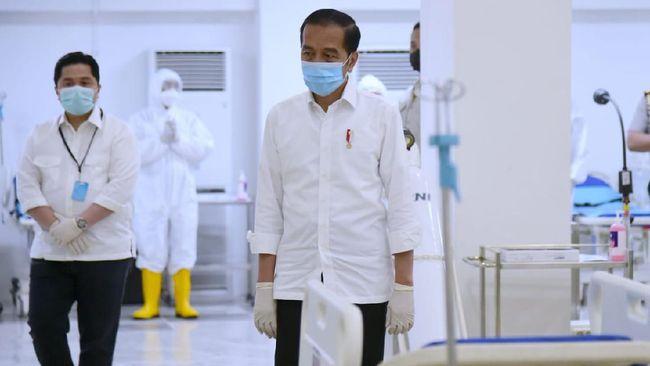 Presiden Jokowi menyebut physical distancing merupakan kebijakan terbaik yang diambil pemerintah saat ini dalam menghadapi virus corona.