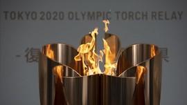 FOTO: Api Olimpiade 2020 Tak Padam karena Corona