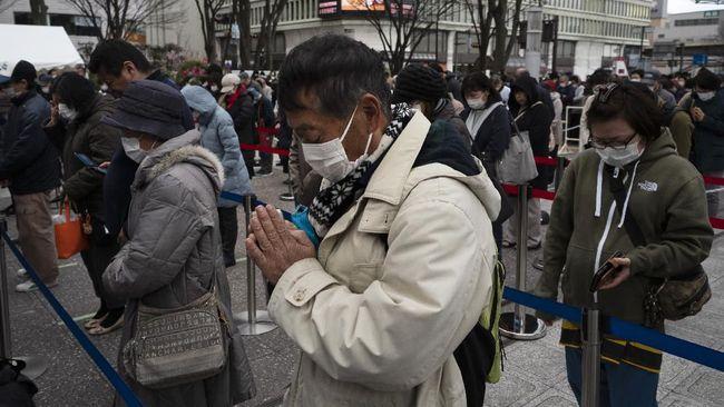 Jepang bakal memberlakukan kembali status darurat virus corona di Tokyo, Osaka, Kyoto dan Hogo.