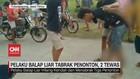 VIDEO: Pelaku Balap Liar Tabrak Penonton, 2 Tewas