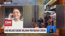 VIDEO: Aksi Melanie Subono Melawan Penyebaran Corona