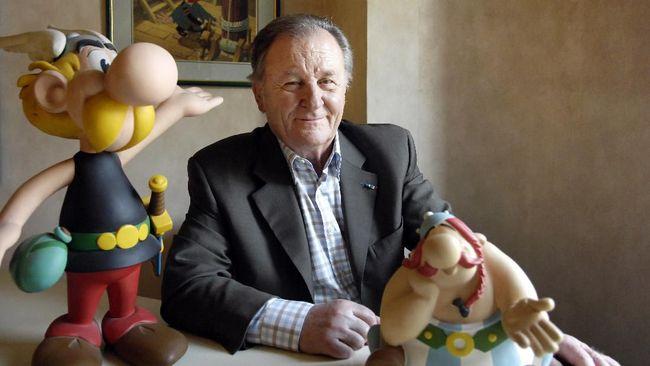 Komikus Prancis legendaris, Albert Uderzo yang terkenal berkat serial komik Asterix meninggal dunia di usia ke-92, Selasa (23/3).