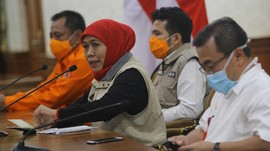 Menunggu Aksi Khofifah Usai Kasus Corona Jatim Salip Jakarta