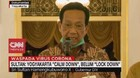 VIDEO: Sultan: Yogyakarta 'Calm Down', Belum 'Lock Down'